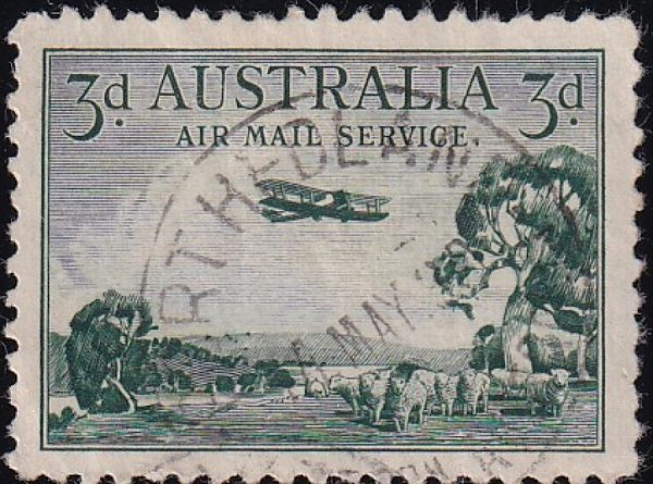 3d Airmail Type A