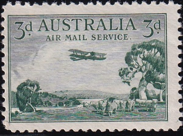 3d Airmail Type B
