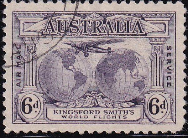 6d Kingsford Smith