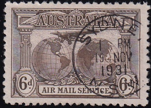 Kingsford Smith - Airmail