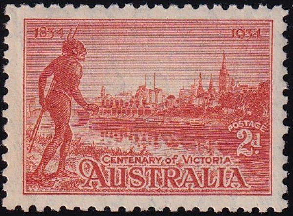 2d Centenary of Victoria - p10½