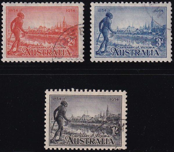 Centenary of Victoria - p10½
