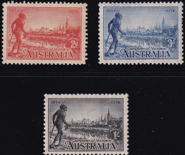 Centenary of Victoria - p11½