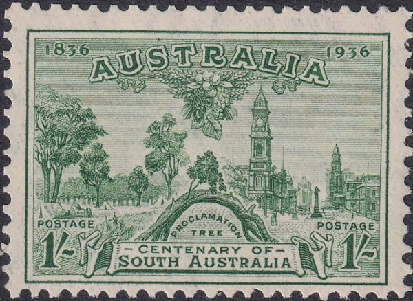 1/- Centenary of South Australia