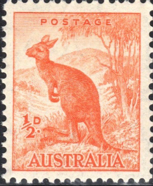 ½d Kangaroo p 13½ x 14