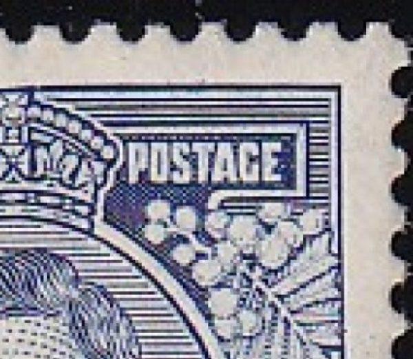 3d King George VI p 13½ x 14 Die Ia