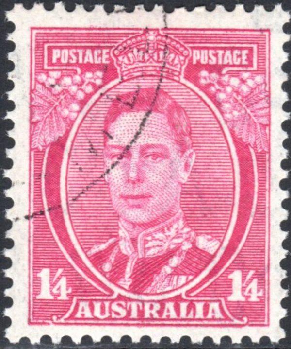 1/4d King George VI p 13½ x 14