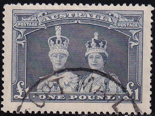 £1 King George VI & Queen Elizabeth - Thick Paper