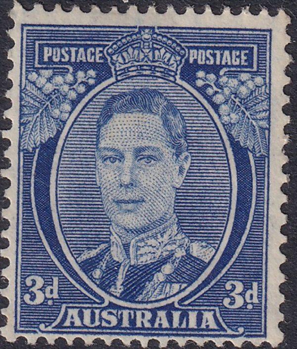 3d King George VI p 15 x 14