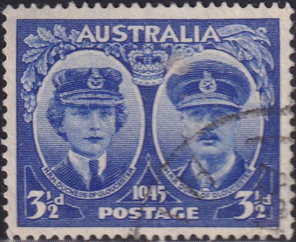 3½d Arrival of Duke and Duchess of Gloucester in Australia