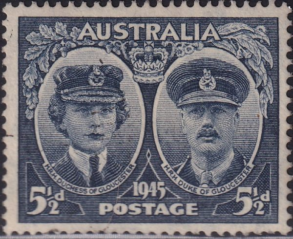 5½d Arrival of Duke and Duchess of Gloucester in Australia