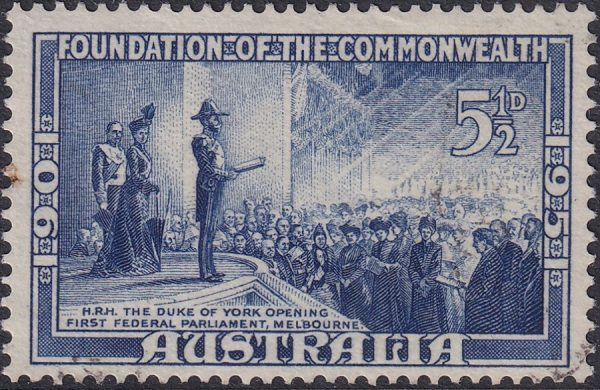 5½d 50th Anniversary of Commonwealth of Australia