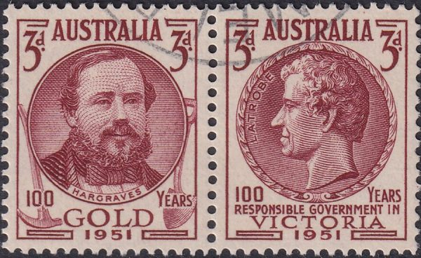 Centenaries of Discovery of Gold in Australia & Responsible Government in Victoria