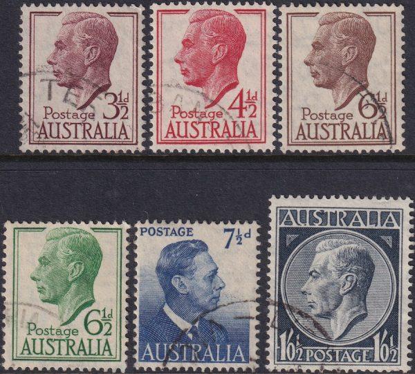 1951-52 King George VI Definitives