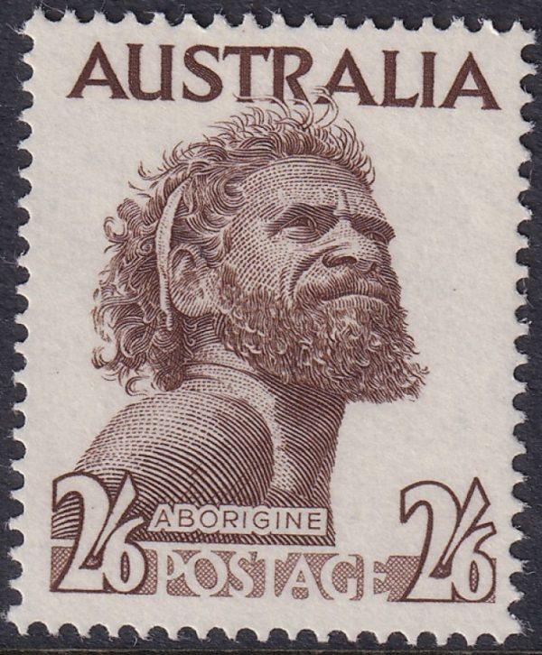 2/6d Aborigine - No Watermark
