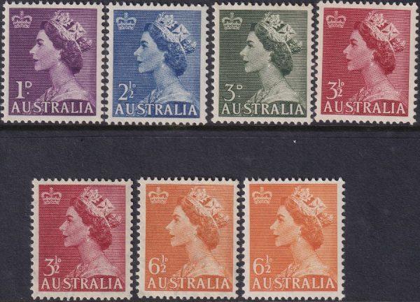 1953-56 Queen Elizabeth II Definitives