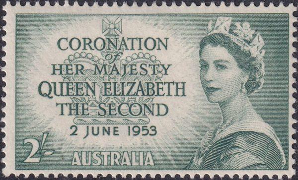2/- Coronation of QE II