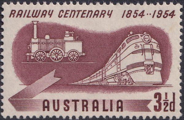 Australian Railways Centenary - Type B