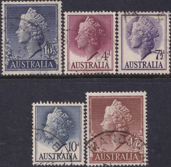 1955-57 Queen Elizabeth II Definitives