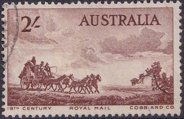 2/- Mail-coach Pioneers Commemoration