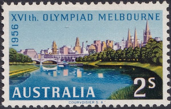 2/- Olympic Games Melbourne