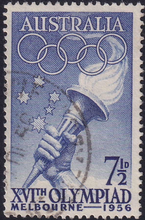 7½d Olympic Games Melbourne