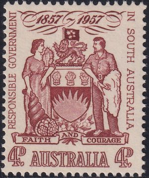 Centenary of Responsible Government in South Australia - Type A