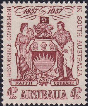 Centenary of Responsible Government in South Australia - Type b
