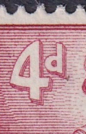 4d Queen Elizabeth II - Type I
