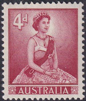 4d Queen Elizabeth II - Type II