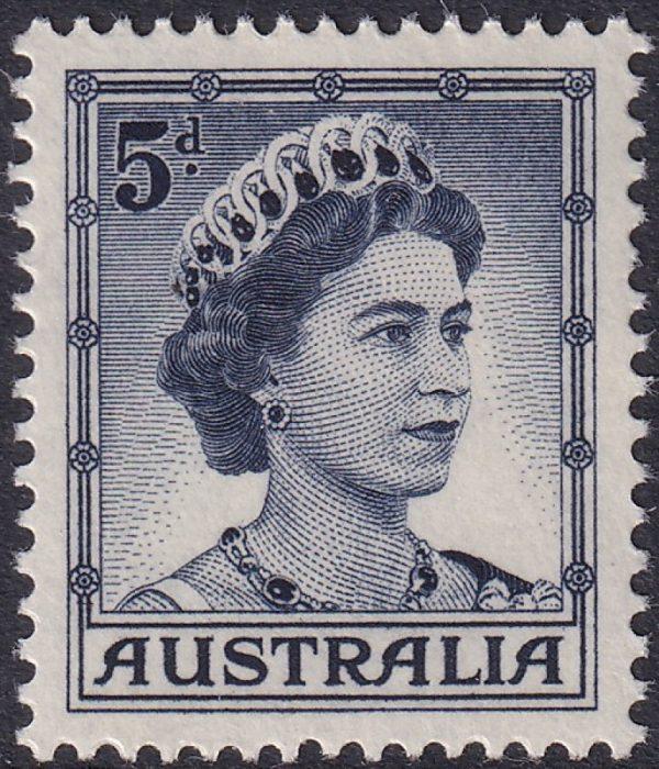 5d Queen Elizabeth II - Type A