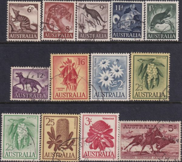 1959-64 Wildlife and Flowers Definitives