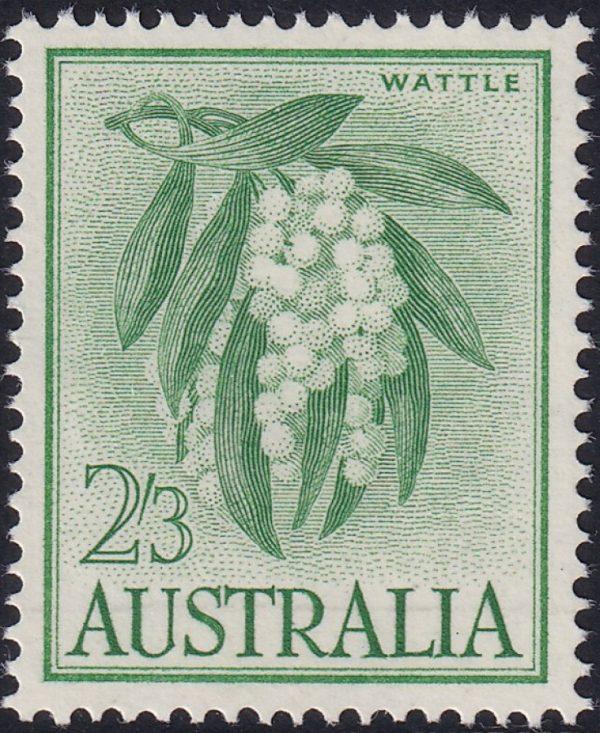 2/3d Wattle - Yellow-green