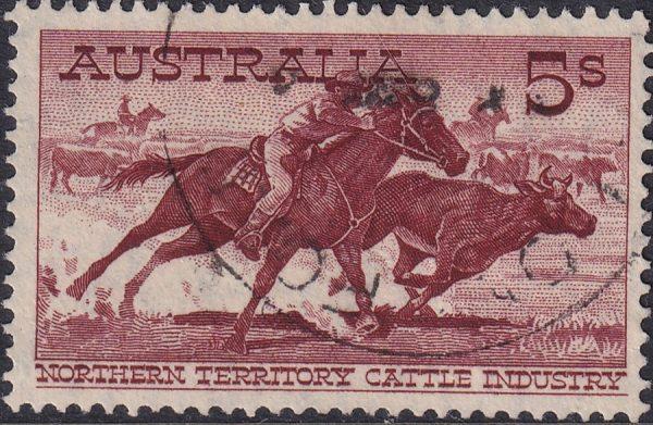5/- Aboriginal Stockman