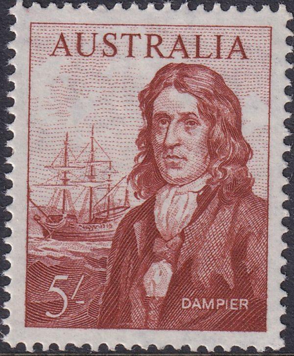 5/- Dampier and Roebuck