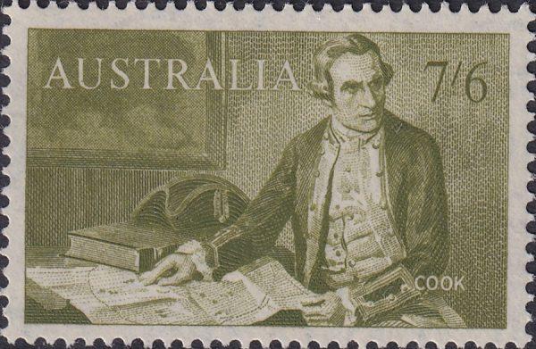 7/6d Captain Cook