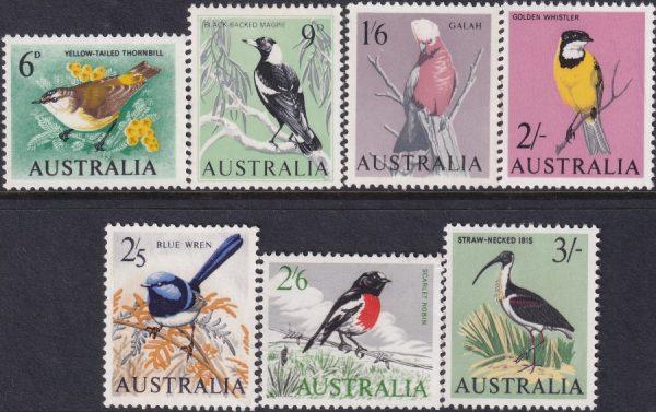 1964 - 65 Birds Definitives