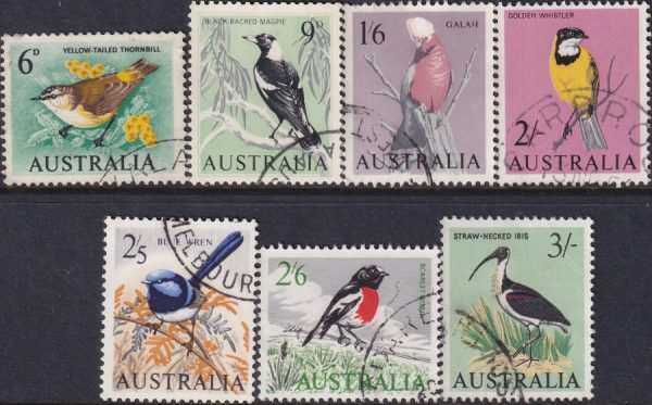 1964 - 65 Birds Definitives