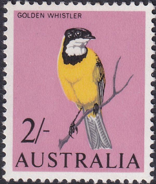 2/- Golden Whistler