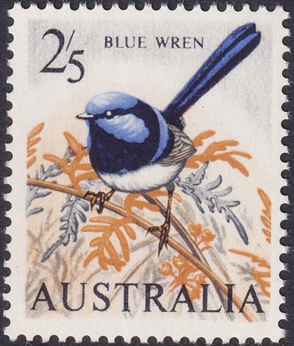 2/5d Blue Wren