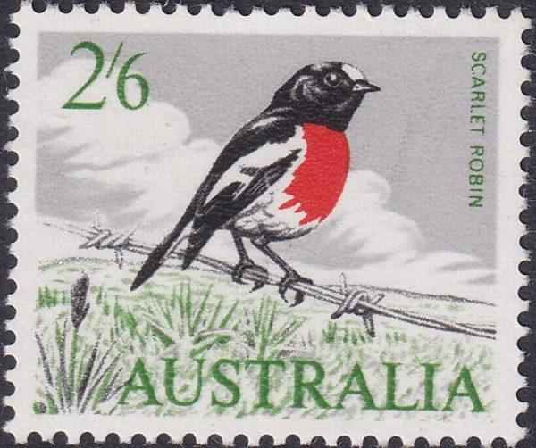 2/6d Scarlet Robin