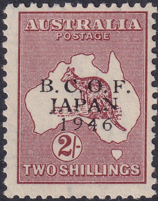 2/- B.C.O.F. Kangaroo