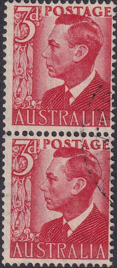 3d King George VI - Coil Pair