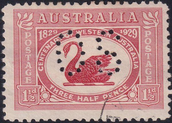 Centenary of Western Australia - OS
