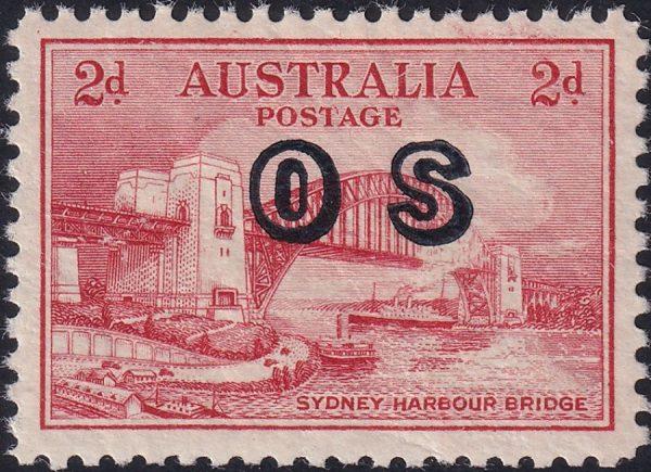 2d Sydney Harbour Bridge - OS