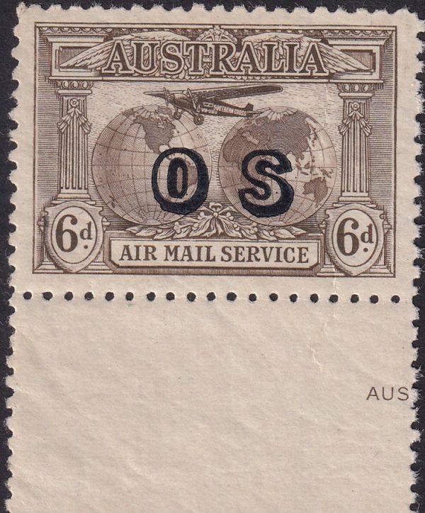 Kingsford Smith - Airmail - OS