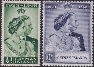 Cayman Is. Silver Wedding