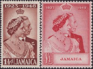Jamaica Silver Wedding