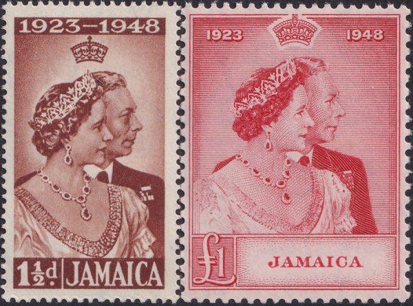 Jamaica Silver Wedding