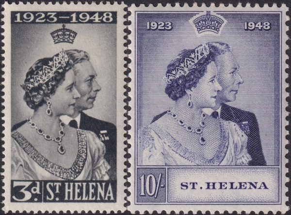 St Helena Silver Wedding